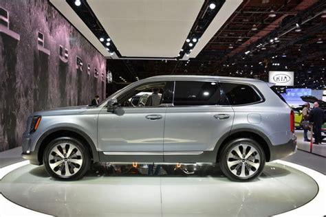 kia telluride suv unveiled   detroit auto show