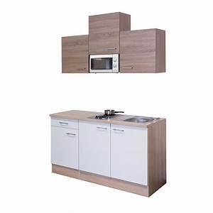 Singleküche 150 Cm : singlek che rom mit mikrowelle 9 teilig breite 150 cm wei k che singlek chen ~ Watch28wear.com Haus und Dekorationen