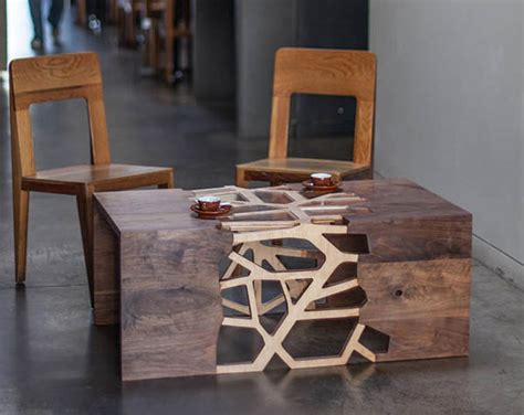 Branch Inspired Coffee Tables : table design