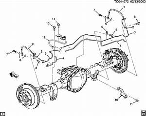 Fg 9086  2003 Silverado Brake Line Diagram Wiring Diagram