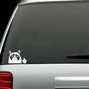 Grumpy Cat Car Decal