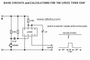 Lm555 Electronics Schematic Diagram Basic Circuits For The