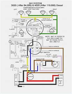 Color Diagram Wiring Harness For John Deere 4010 Diesel Tractor  U2013 Fasett Info