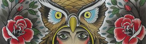 lady owl  roses opie ortiz