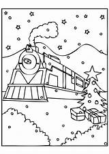 Ticket Template Drawing Polar Express Train Coloring Getdrawings sketch template