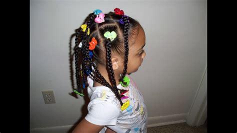 Cute Kids Hairstyles (braids, Ponytails