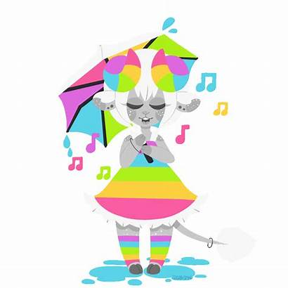 Rain Animated Singing Clipart Gift Transparent Webstockreview
