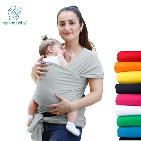 comfortable fashion infant sling soft natural wrap