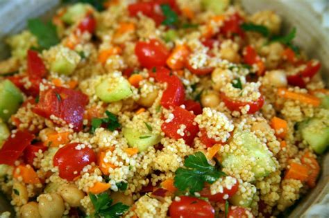 Couscous, Salads And Recipe