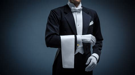 wallpaper butler uniform elegant man style resolution  wallpapers  love