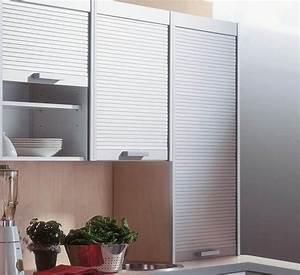 Füße Für Küchenschränke : elegante jalousie t ren f r die k chenschr nke wohnen ~ Michelbontemps.com Haus und Dekorationen