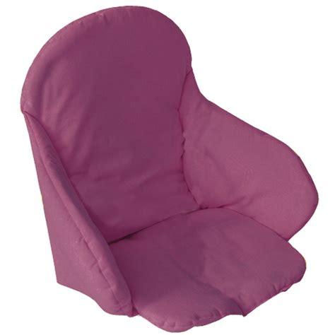 coussin rehausseur chaise coussin de chaise en tissu prune de babycalin coussins de