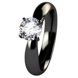 titanium wedding rings womens black wedding rings for 2013 inofashionstyle