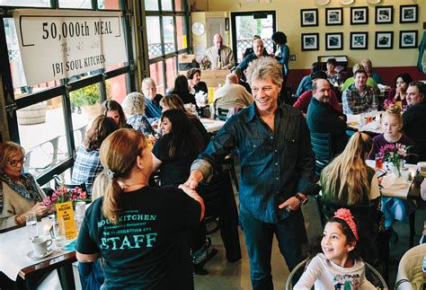 Bon Jovi The Musician Launches Chain Restaurants