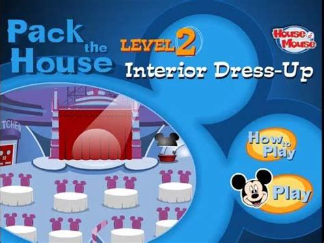 disneys house  mouse pack  house level