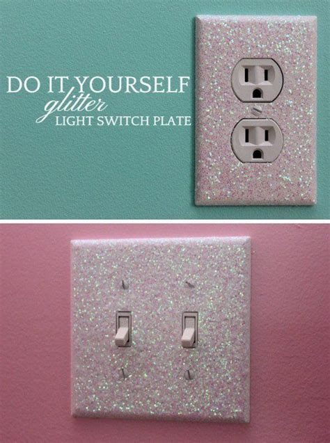 light switch covers for girls glitter light switch plates bedrooms pinterest