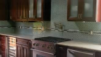 green subway tile kitchen backsplash green mini glass subway tile backsplash home decoria