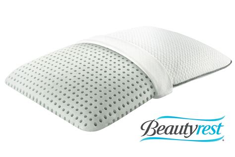 beautyrest memory foam pillow beautyrest 174 aircool 174 memory foam pillow at gardner white