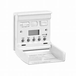 7 Day Electronic Wall Switch Lighting Security Timer With