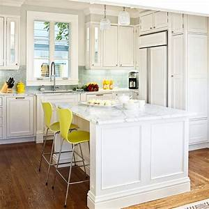 Design ideas for white kitchens traditional home for Kitchen colors with white cabinets with designer metal wall art