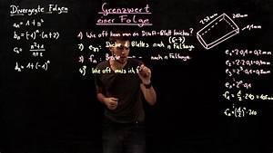 Grenzwert Berechnen Beispiele : grenzwert einer folge beispiele f r divergenz mathematik online lernen ~ Themetempest.com Abrechnung