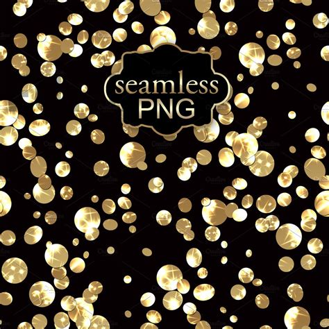 digital seamless gold confetti png textures creative