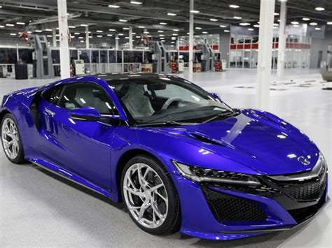 Acura Building New Nsx In Hightech Ohio Factory