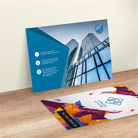 printing services business cards postcards