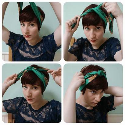 Headband Tie Scarf Pixie Cut Hairstyles Headscarf