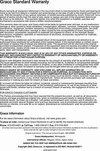 Graco 309968d 950 Series Sealant Gun Users Manual Gun