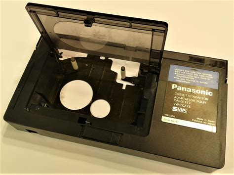 cassette vhs 8mm to vhs cassette adapter