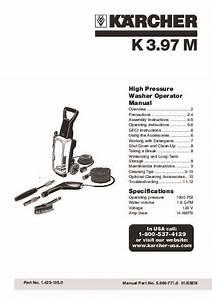 K U00e4rcher K 3 97 M Quattro Electric Power High Pressure