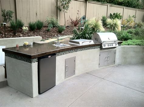 Kate Presents Modern Barbecue Island (outdoor Kitchen