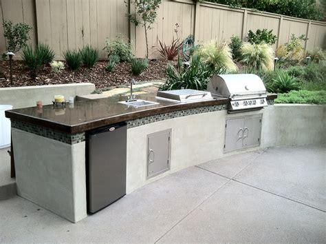 Modern Barbecue Island (outdoor Kitchen) » Sage Outdoor