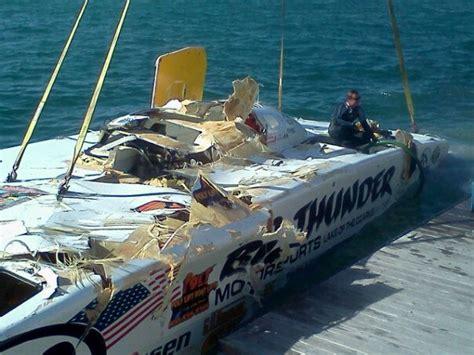 Power Boat Crash Jacksonville by Tragic At Superboat Key West World Chionships