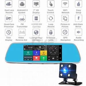 Voiture Avec Wifi : dashcam r troviseur cran tactile 4g avec surveillance en temps r el dans tout le maroc dans ~ Medecine-chirurgie-esthetiques.com Avis de Voitures