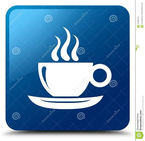Alibaba.com offers 1,847 coffee icon products. Coffee Cup Icon Blue Square Button Stock Illustration - Illustration of blue, square: 105902123