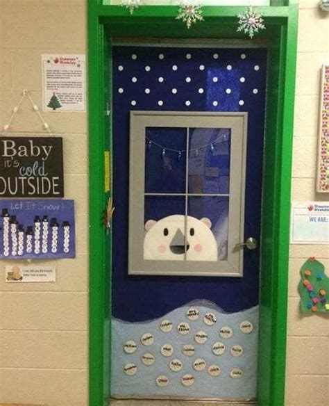 amazing classroom doors  winter   holidays