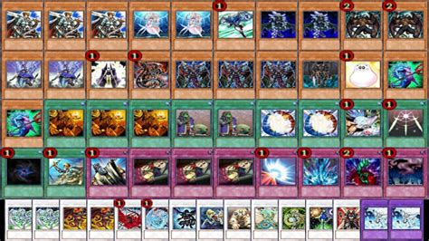 synchro structure deck tcg mixed synchro deck r f