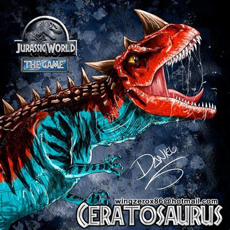 ceratosaurus by wingzerox86 on deviantart