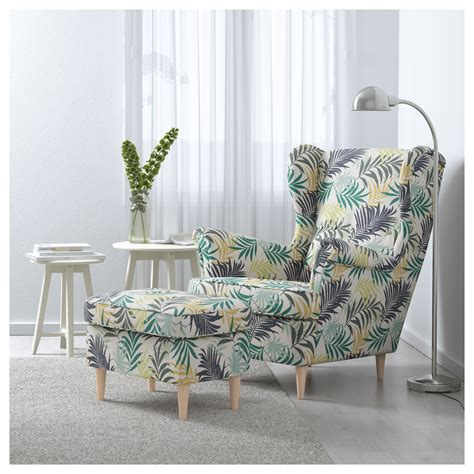 strandmon wing chair gillhov multicolour ikea