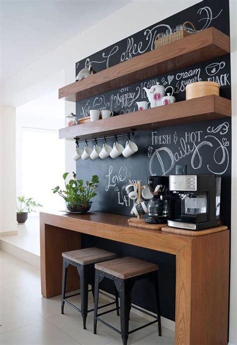 coffee station furniture  chalkboard ideas