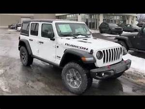 Jeep Wrangler Jl Rubicon : 2018 jeep wrangler jl rubicon in white youtube ~ Jslefanu.com Haus und Dekorationen
