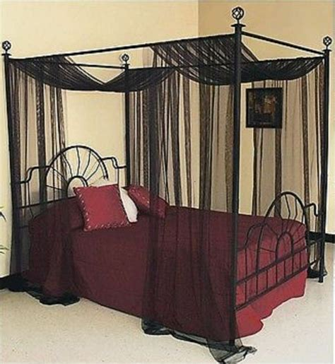 draped bed four poster beds canopy curtain for king bed sheer