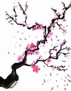 Cherry Blossom Drawings - ClipArt Best
