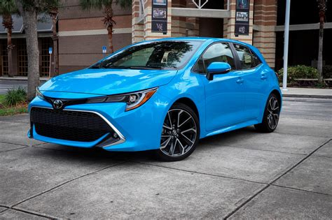 toyota corolla hatchback review trims specs price  interior features exterior