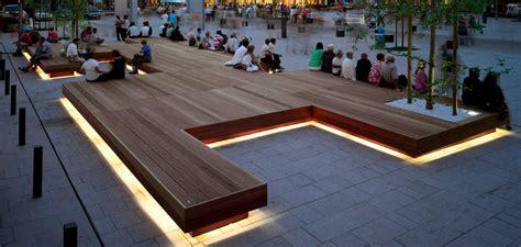 Panchine Pubbliche by Isola Seduta Arredo Urbano Harris Metalco