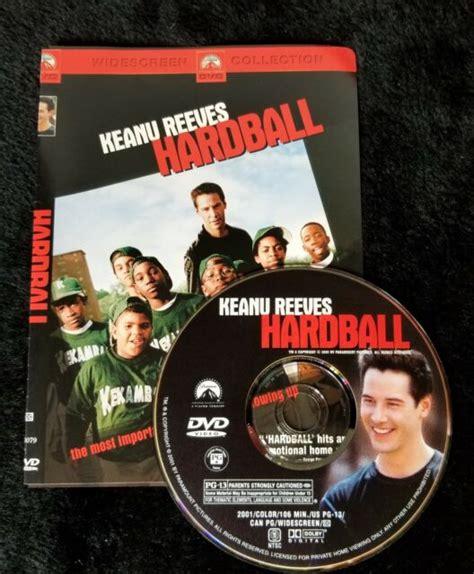 Video Dvd Hardball Keanu Reeves Excellent Ex