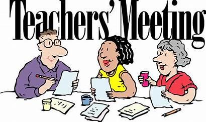 Meeting Clipart Teacher Teachers Conference Meetings Clip