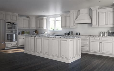 Roosevelt White Preassembled Kitchen Cabinets  The Rta Store
